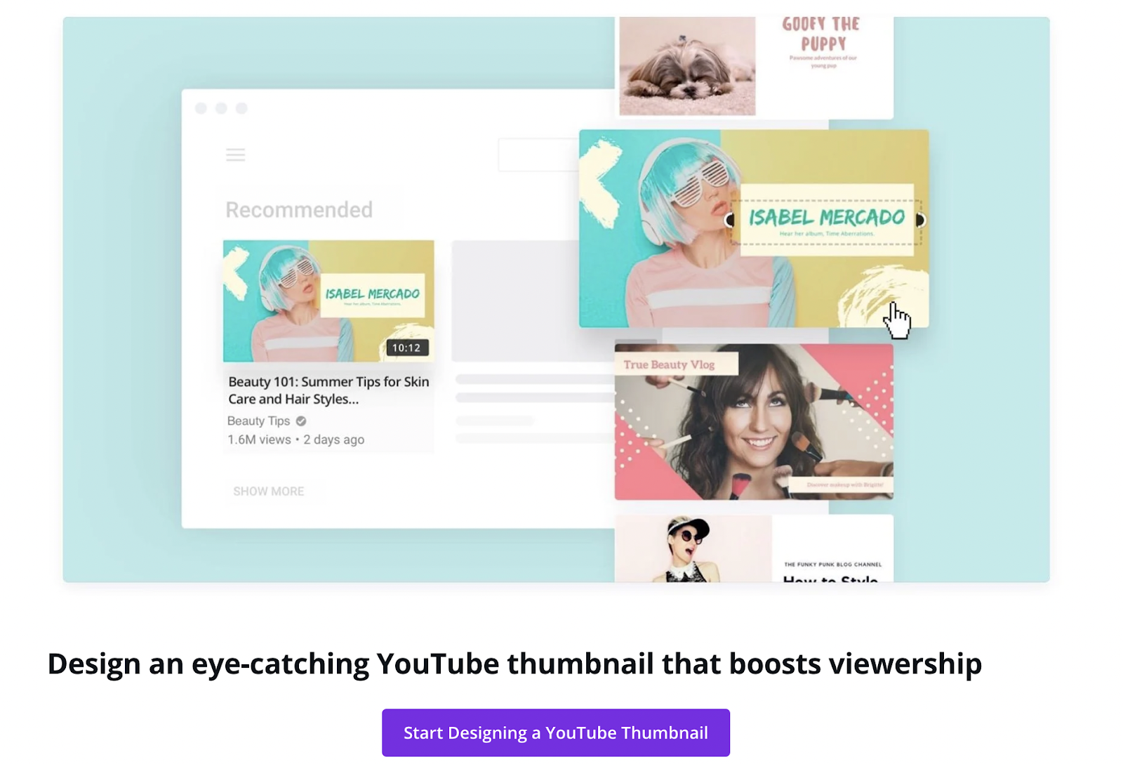 Canva makes a winning YouTube thumbnail in five easy steps – source