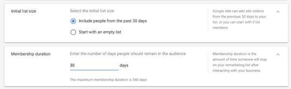 adjusting membership duration