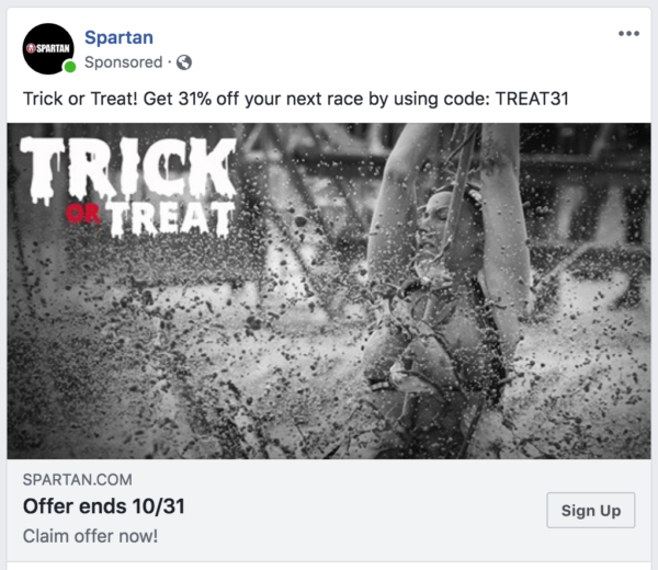 And yes, I did use this code to sign up for another race.