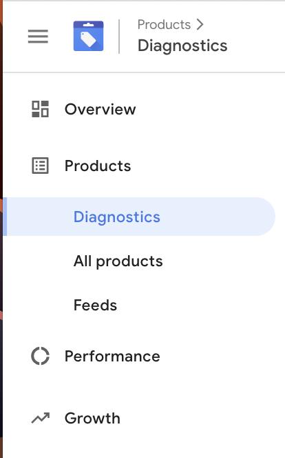 Google Merchant Center > Diagnostics > Request review