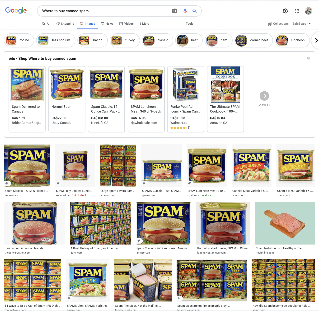 The images tab. Make it stop.