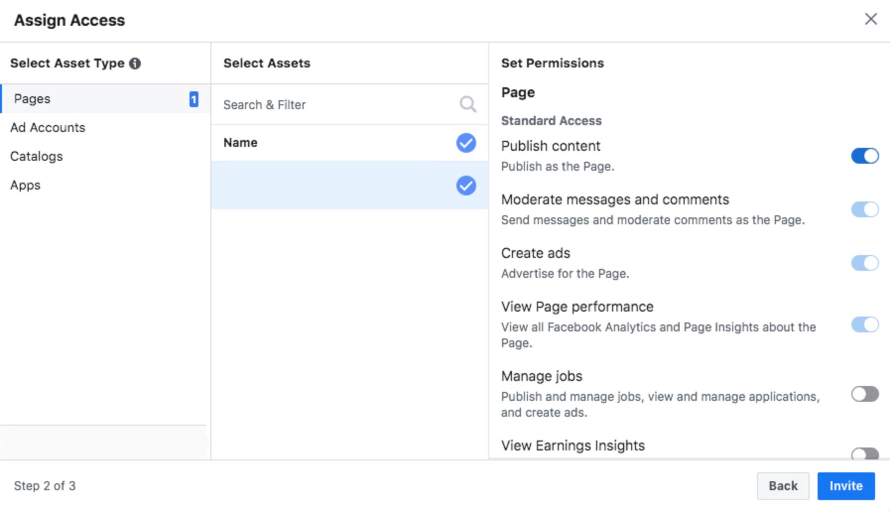 facebook business manager assign access