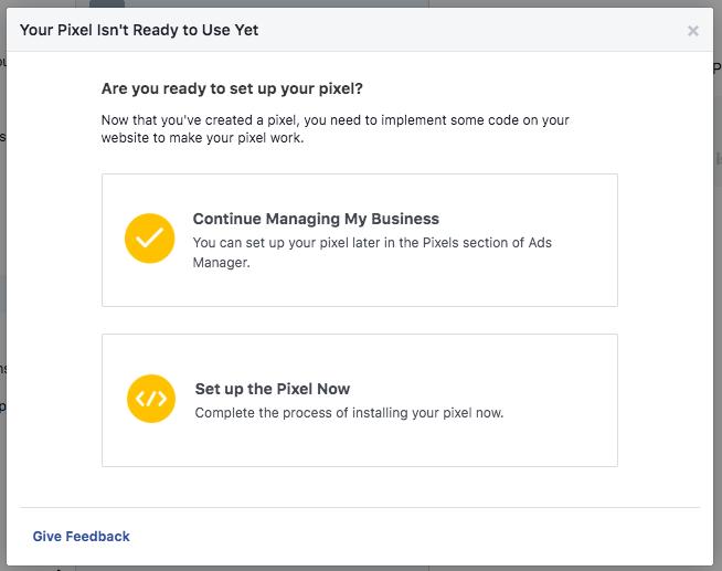 facebook business manager facebook pixel