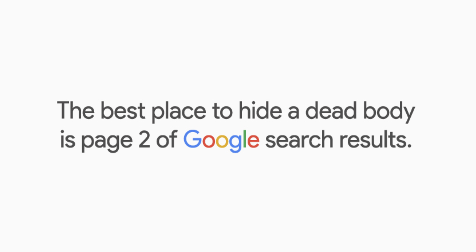 Why you must rank high on Google