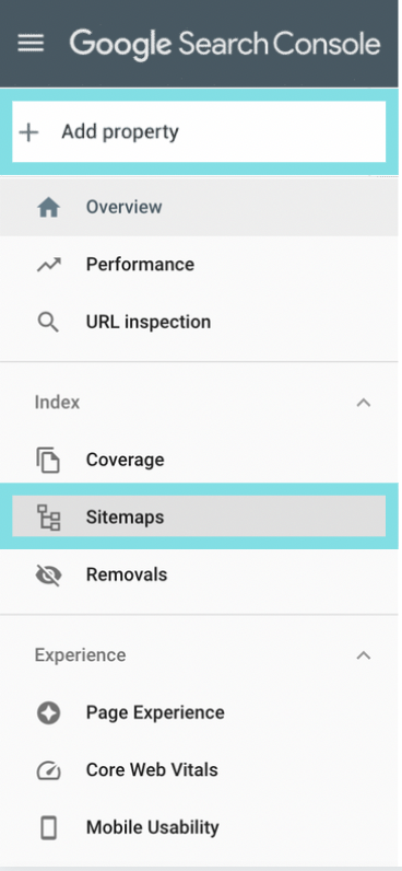 submit a sitemap
