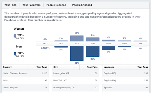 facebook marketing audience insights tool