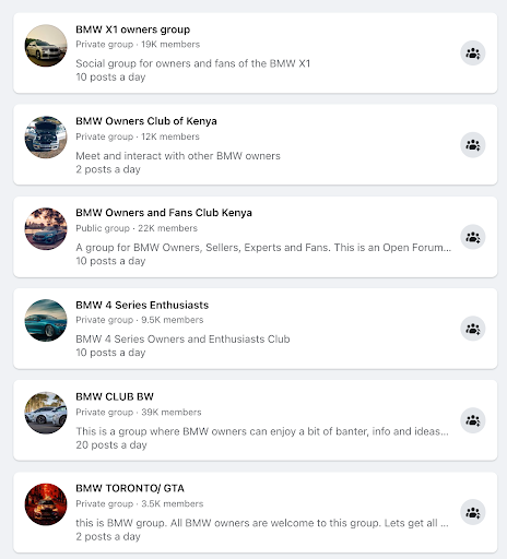 facebook marketing facebook groups